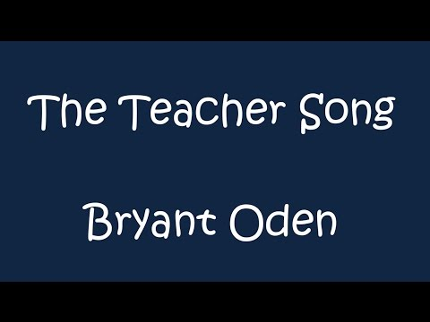 The Teacher Song Female teacher version