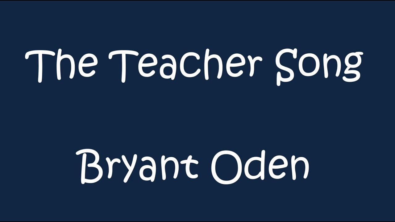 the homework song by bryant oden lyrics