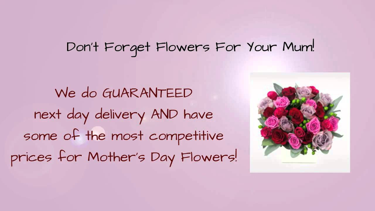 Mothers Day Flowers Order Online For Next Day Delivery In The Uk