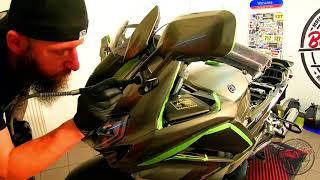 BBG TV/ Yamaha FJR 1300/ Jak myć motocykl? Jak dbać o motocykl?