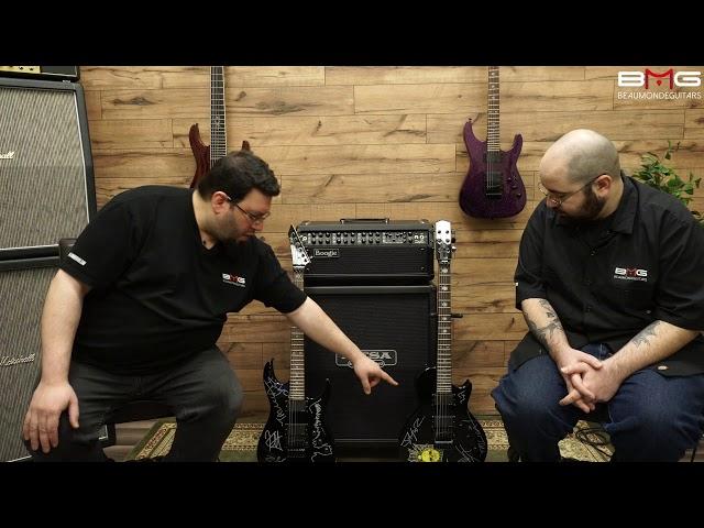 Harry's ESP Kirk Hammett KH-2 & KH-3 Guitars Signed by Metallica