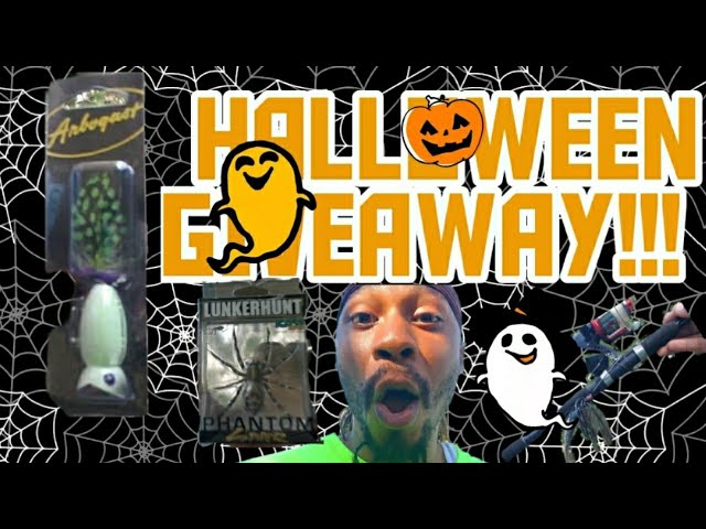 👻🎃Preview Of The HALLOWEEN GIVEAWAY🎃 👻 #FishNWithMaYo #Halloween #Giveaway