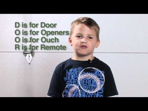 Garage Door Safety And Children, Kids - GarageDoorCare.com