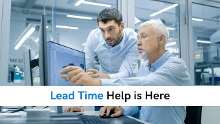 Lead Time Help is Here