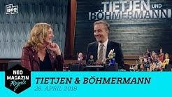 Tietjen & Böhmermann vom 26. April 2018 | NEO MAGAZIN ROYALE mit Jan Böhmermann - ZDFneo