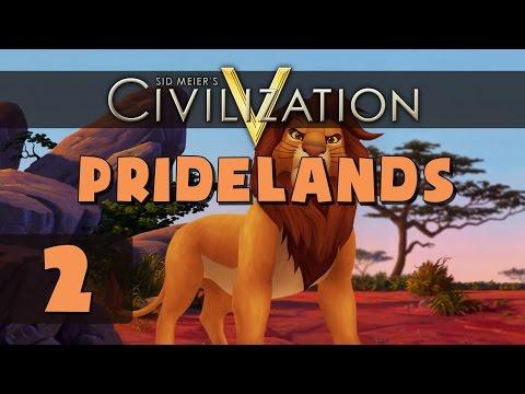 Civilization 5 Deity - Let's Play Pridelands - Part 2