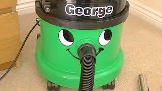 Numatic George GVE 370 Wet/Dry Vacuum Cleaner Demonstration