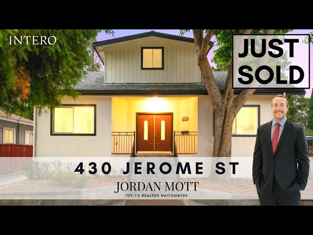 430 Jerome St, San Jose, CA 95125 | Jordan Mott