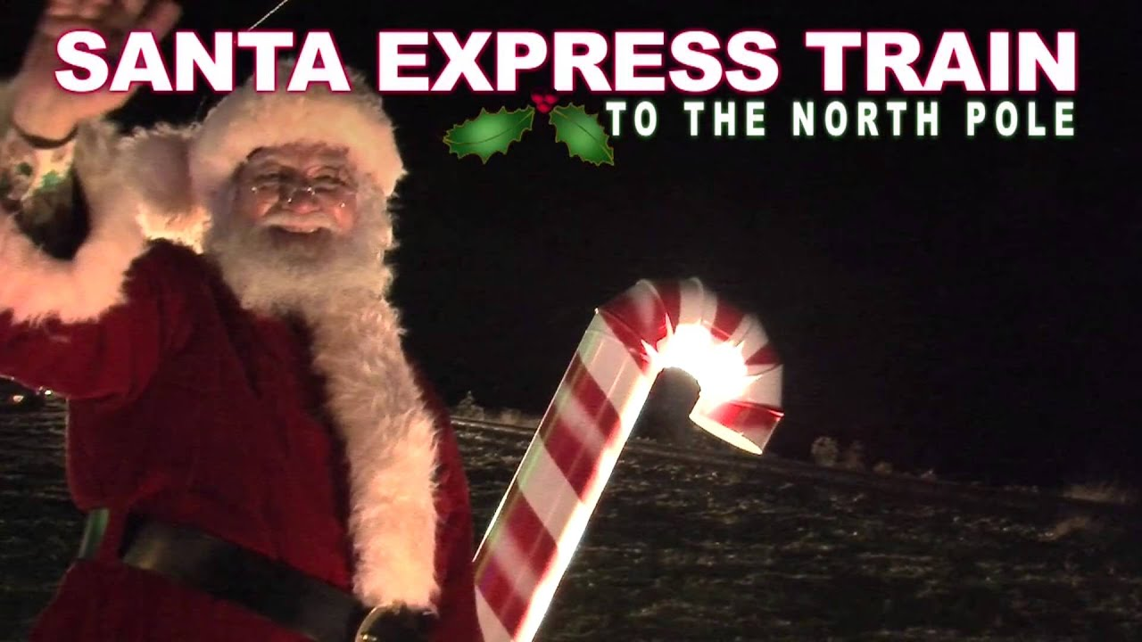 Ride the Santa Express Train to the North Pole!