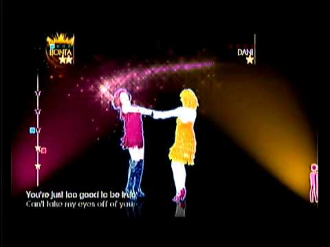 Just Dance 4 [ Can't Take My Eyes Off You ]