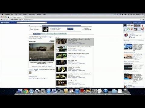 How Do I Set a Song to Play When I Open My Facebook Account? : Facebook Tips & Tricks