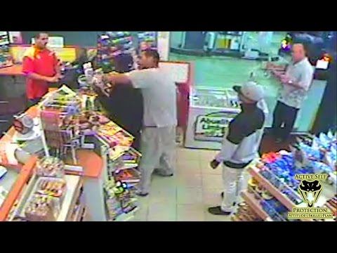 Bystander Gives Armed Robber an Educational Beat Down | Active Self Protection streaming vf