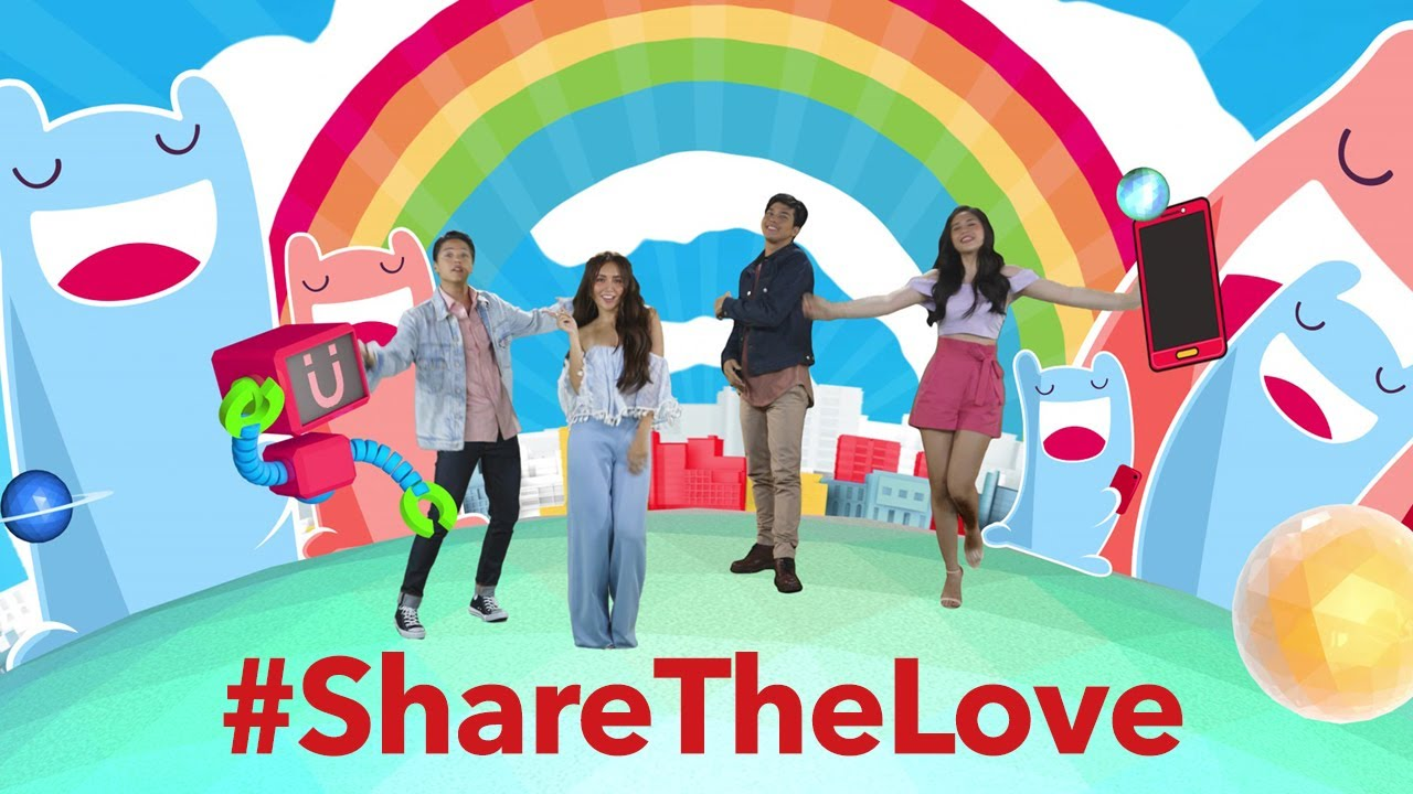 Share The Love - Daniel Padilla, Kathryn Bernardo, Janella  Salvador, Elmo Magalona