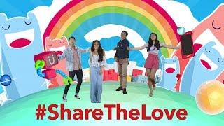 Share The Love Daniel Padilla Kathryn Bernardo Janella Salvador Elmo Magalona