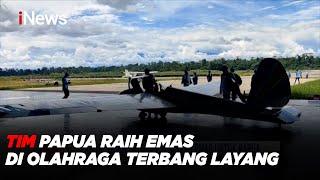 Tim Papua Raih Emas di Olahraga Terbang Layang #iNewsPagi 28/09