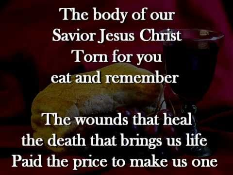 Communion Hymn (Behold the Lamb)