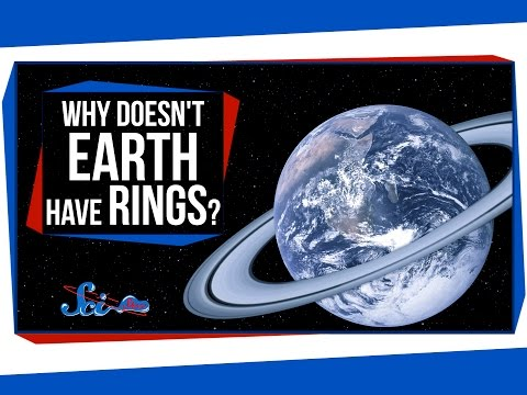 Why Doesn't Earth Have Rings?