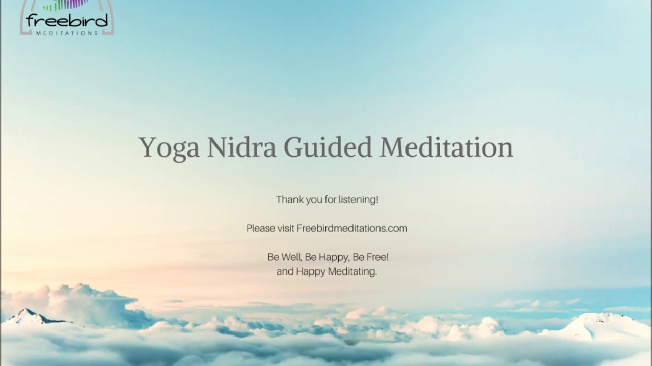 Yoga Nidra Guided Meditation Youtube