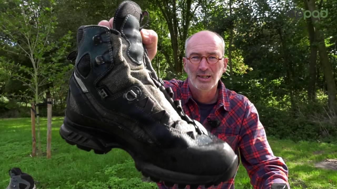 onderhoud wandelschoenen