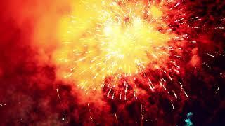 Sylwester 2018 - fajerwerki przed ostrowskim ratuszem