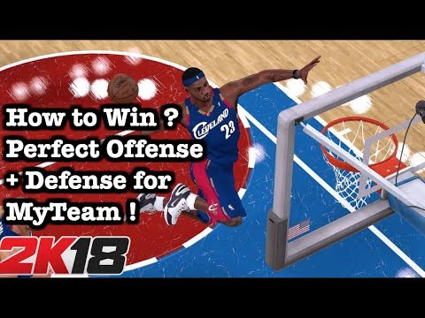NBA 2K18 Tips and Tricks: How to Win Games. 2K18 Full Gameplay Best Offense Tutorial #62