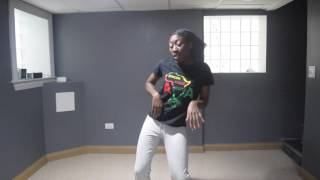 Dancing to Sinach- He did it again