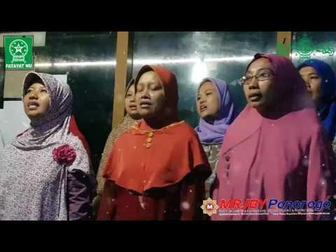 LIVE! Mars Muslimat NU, Indonesia Raya, Syubbanul Wathon & Shalawat Nahdliyah   MRJBY OFFICIAL