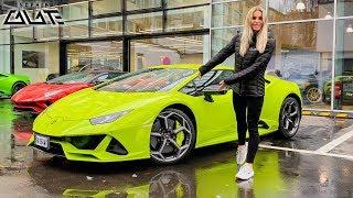 Ich hole Lamborghini Huracán EVO für Roadtrip ab!