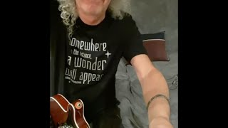 Brian May: We Are The Champions microcon #15 TAKE 1 (9 April 2020) improved