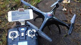 EngSub Обзор квадрокоптер  Syma X5SW  FPV Wi-Fi 2.4Ghz Quadcopter Flight Camera Video Review(Где купить? Where to buy? https://goo.gl/0LmdZM *РОЗЫГРЫШ ЛАЗЕРА* https://goo.gl/gD2qju Группа вконтакте http://vk.com/s3mkirv Обзор Syma X5SW ..., 2015-07-16T08:07:15.000Z)