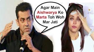 Salman Khan SHOCKING Reaction On Hitting Aishwarya Rai #MeToo