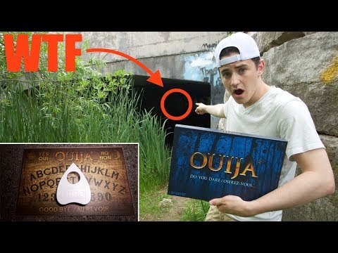TERRIFYING OUIJA BOARD AT HAUNTED TUNNEL (MURDER SCENE LOCATION)