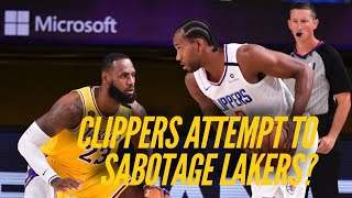 Clippers Attempt To Sabotage Lakers? Frank Vogel Responds
