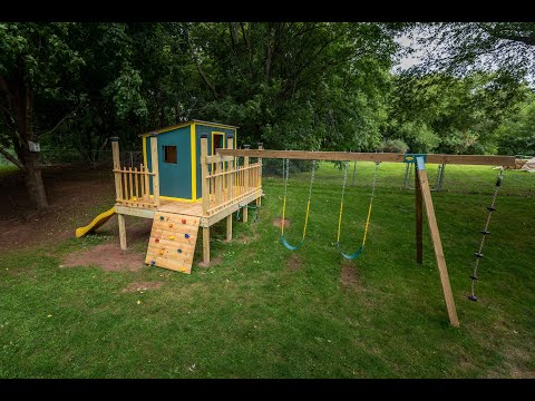 Playhouse Swingset