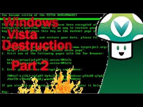 [Vinesauce] Joel - Windows Vista Destruction FULL STREAM (Part 2)
