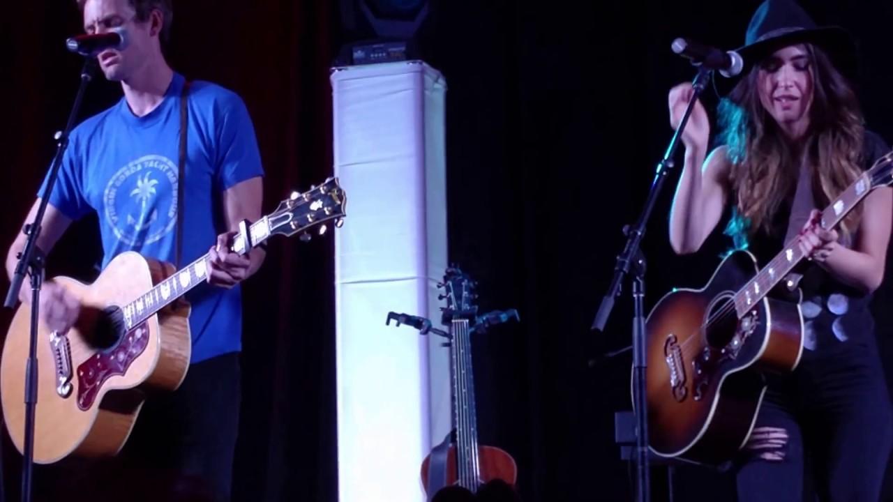 Thtc Concert Kate Voegele Tyler Hilton When The Stars Go Blue