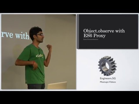 Object.observe with ES6 Proxy - talk.js