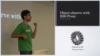Object.observe with ES6 Proxy - talk.js