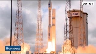 Blast Off: European Space Plane Launches
