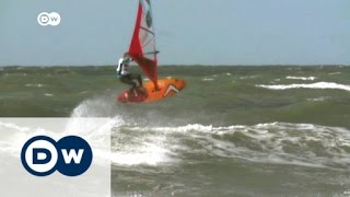 The thrills of windsurfing | DW News