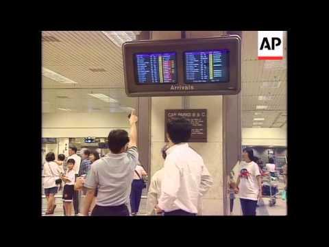Singapore - Plane crash