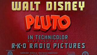 "Pluto - ""Canine Patrol"" (1945) - recreation titles"