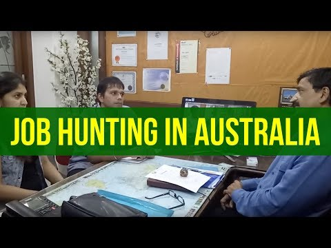 Manoj Palwe of Dreamvisas on How to get Job in Australia after you got the PR visa!!