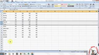 Excel Shortcut Key: How to Hide and Unhide Column and Row in Excel