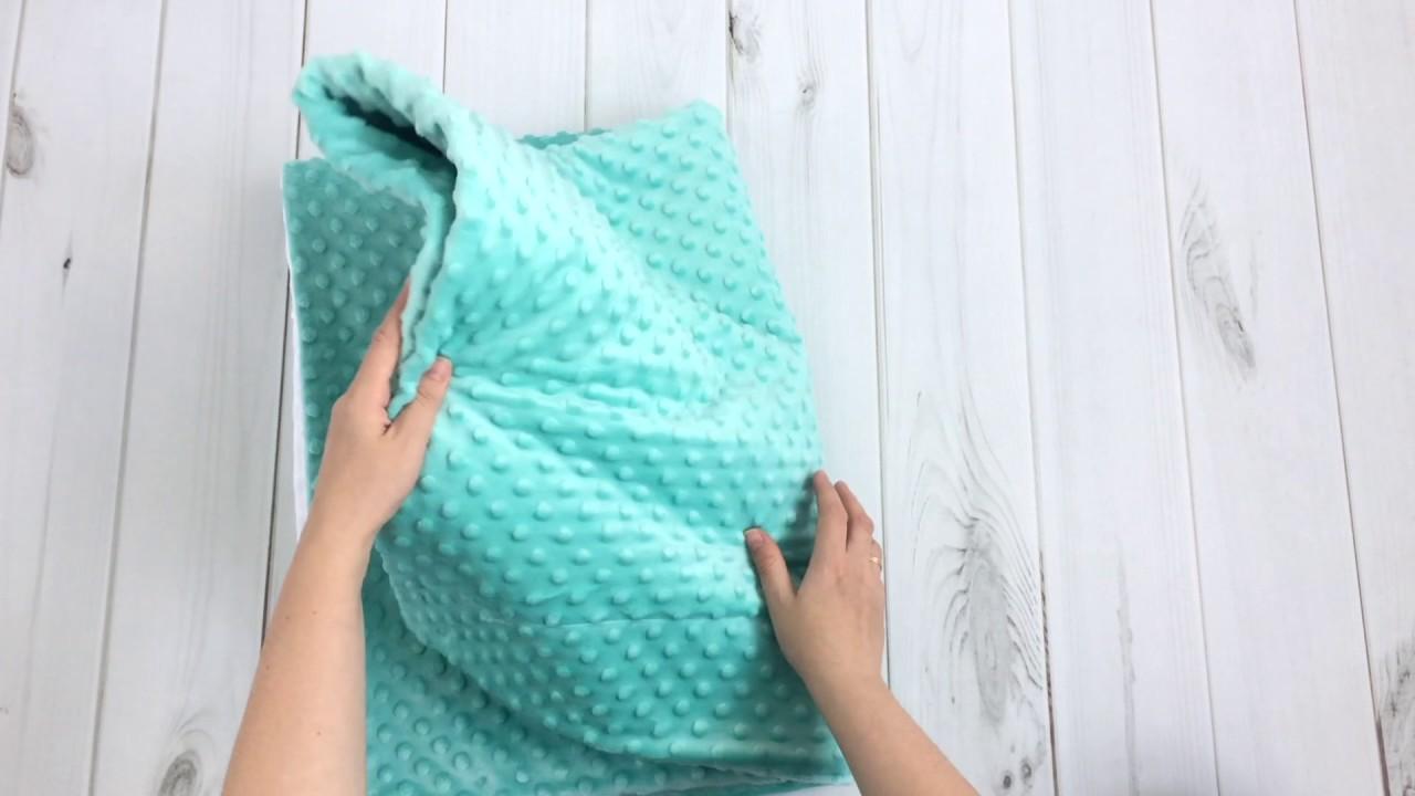 Сшить плед из плюша минки для ребенка своими руками 133