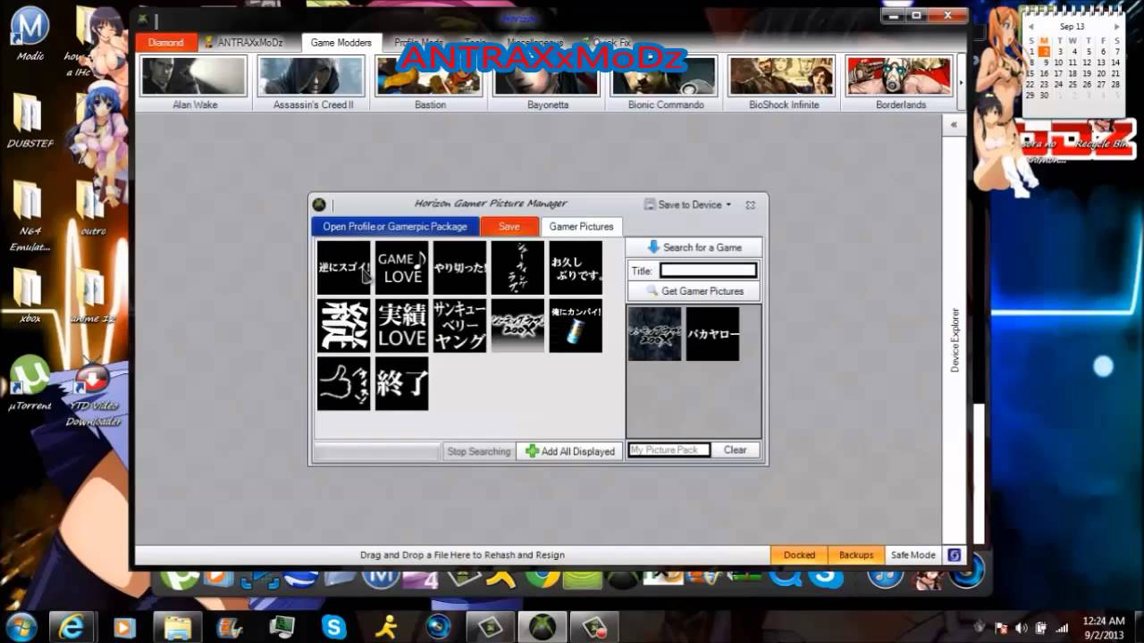 How To Get Anime Gamer Pic Xbox With Download Youtube
