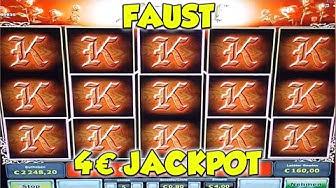 Faust JACKPOT auf 4€ - FREISPIELE Novoline, Merkur Magie Online Spielothek HD