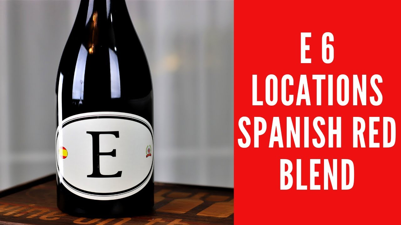 E 6 Locations Spanish Red Blend Wine Review By Dave Phinney Wine On The Dime