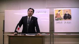 第3回黒田裕樹の歴史講座「源義経 ~悲劇のアイドル」の様子です(3/11...
