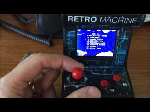 My Arcade Retro Arcade Machine Handheld Gaming System ...